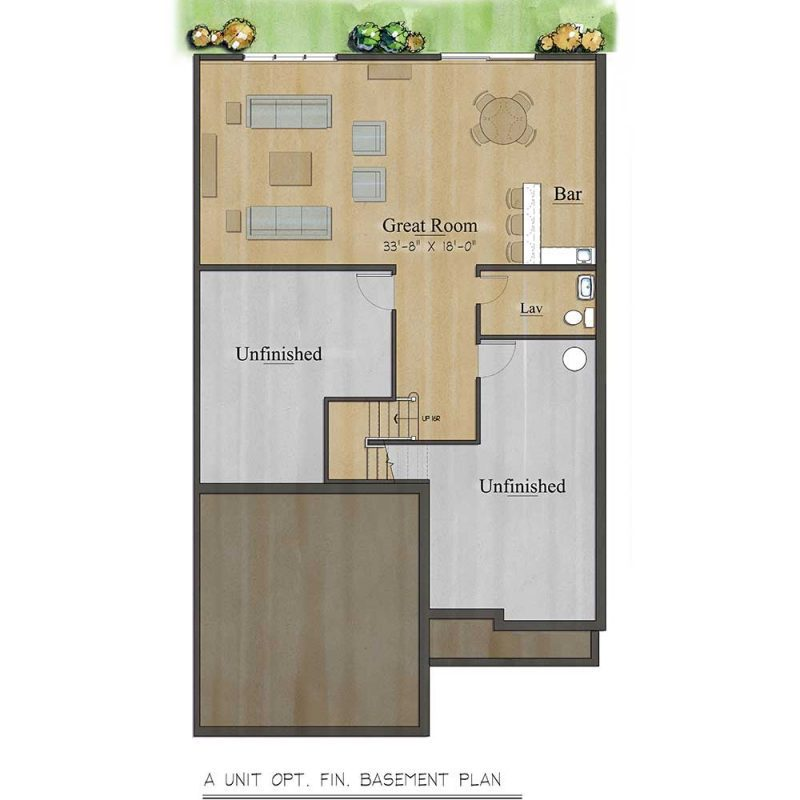 Ashbury Basement Plan